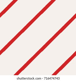 Christmas Rough Candy Cane Stripes Seamless Pattern - Great for Christmas and Winter Projects, Wrapping Paper, Backgrounds, Wallpapers.