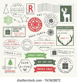 Christmas Rubber Stamp Collection