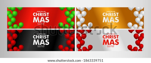 christmas sale up to 70% event text label on black background vector design illustration.