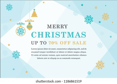 Christmas sale background and icon set pattern. Vector illustration.Wallpaper.flyers, invitation, posters, brochure, banners, calendar