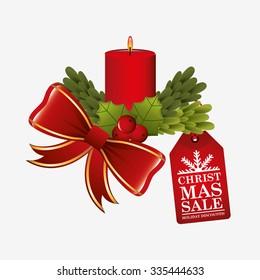 christmas sale design, vector illustration eps10 graphic