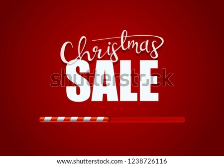 christmas sale promotional poster design stock vector royalty free