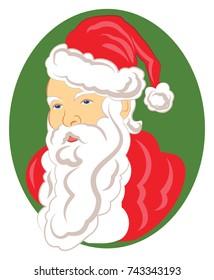 Christmas Santa Claus Cameo