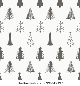 Christmas seamless pattern image Christmas Trees