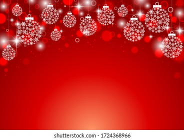 Christmas simple ornament simple background