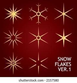 christmas snow flakes