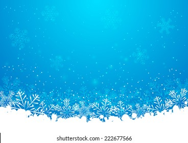 Christmas snowflakes background for Your design