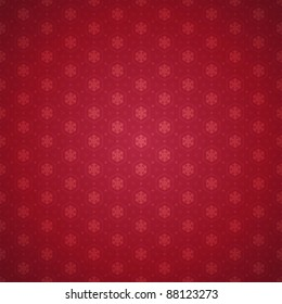 Christmas snowflakes pattern vector background. Eps 10.