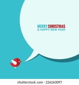 christmas social media concept background