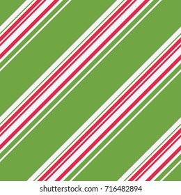 Christmas Stripes Seamless Pattern - Great for Christmas and Winter Projects, Wrapping Paper, Backgrounds, Wallpapers.