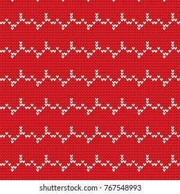 Christmas sweater pattern design