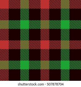 Christmas Tartan Seamless Patterns. Tartan plaid  background. Seamless samples for background, suitable for Christmas and New Year. Suits for decorative paper  well as for hand crafts and DIY.