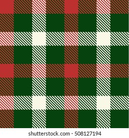 Christmas Tartan Seamless Patterns. Tartan plaid  background. Seamless samples for background, suitable for Christmas and New Year. Suits for decorative paper  well as for hand crafts and DIY