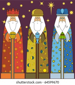 Christmas: Three Kings - Three Wise Men