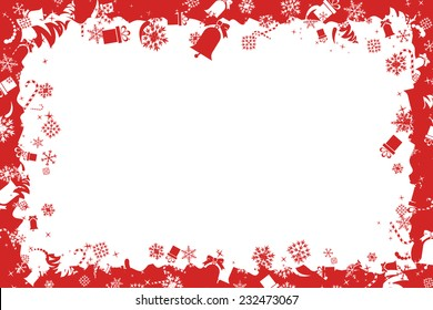 Christmas Toy Frame