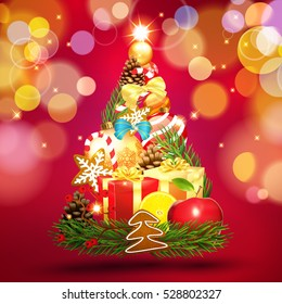 Christmas. Tree.