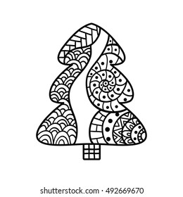 Coloriage Noël Stock Vectors Images Vector Art Shutterstock