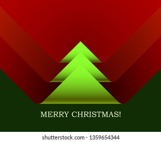 Christmas tree, creative vector design