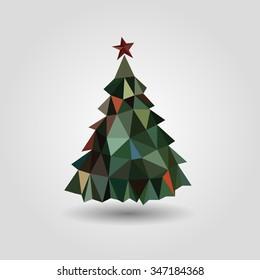 Christmas tree. Christmas. Fairy tale. New Year