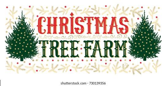 Christmas Tree Farm Images, Stock Photos & Vectors ...