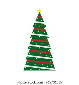 Christmas tree , Christmas garland