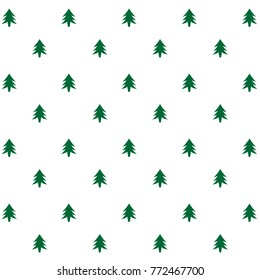 christmas tree pattern background 260nw 772467700