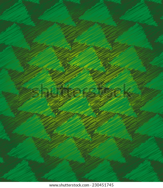 Christmas tree seamless pattern texture, for background, wallpaper, wrapping paper or fabric