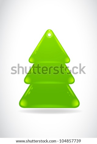 Christmas tree template web button stock vector royalty free christmas tree template web button maxwellsz