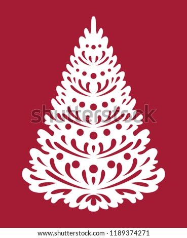 christmas tree templates for laser cutting plotter cutting wood carving or printing