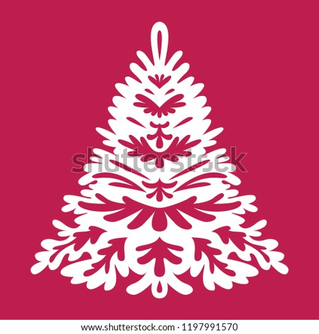 Christmas Tree Templates Laser Cutting Plotter Stock Vector Royalty Stunning Free Wooden Christmas Tree Patterns
