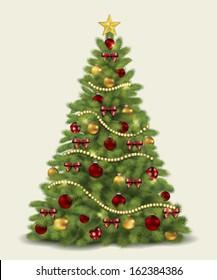 Christmas Tree.Vector