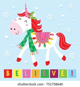 Christmas Unicorn.Christmas Unicorn Images Stock Photos Vectors Shutterstock