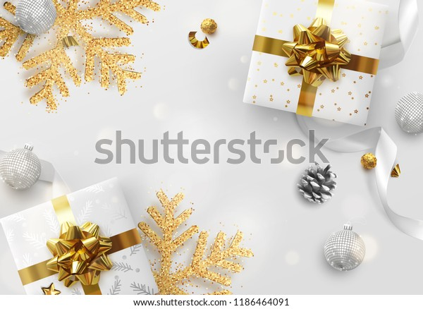 Christmas Vector Background Creative Design Greeting Stock
