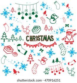 christmas wish doodles