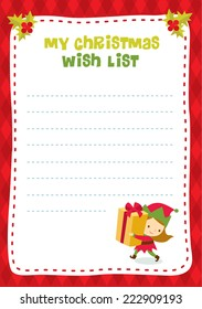 Christmas Wish List Images Stock Photos Vectors Shutterstock