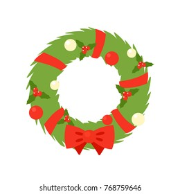 Christmas Wreath Silhouette Vector.Christmas Wreath Silhouette Stock Vectors Images Vector
