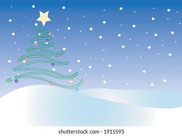 Christmas,winter scene