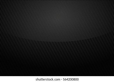 Chrome black background vector illustration