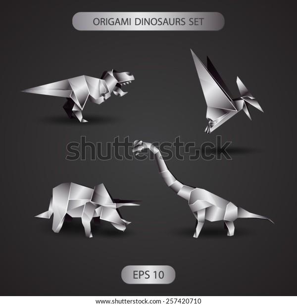 NPW W7244 Dinosaur Origami Kit | 619x600