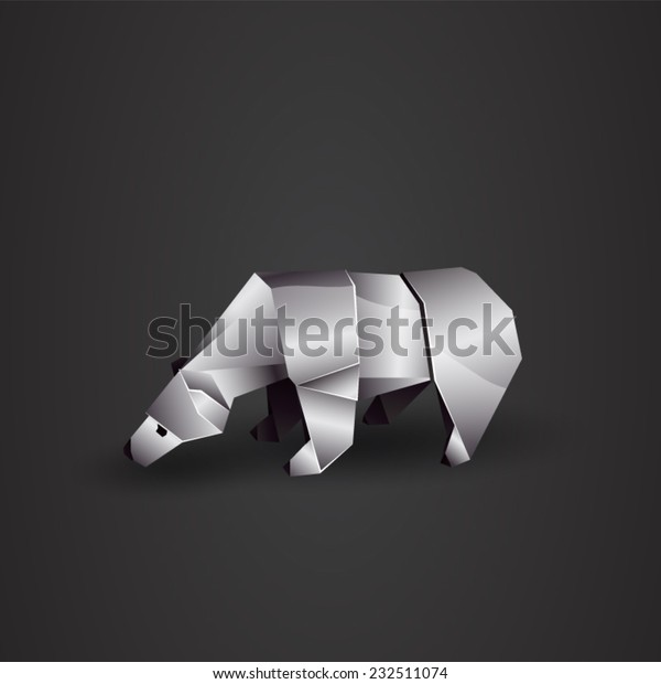 Origami Polar Bear by orimin on DeviantArt | 620x600