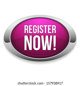 Chrome pink register now button