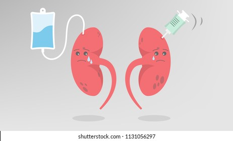 Chronic kidney disease, bad health