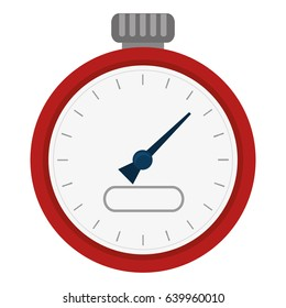 chronometer device isolated icon