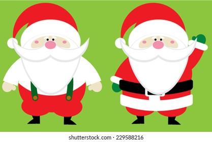 Chubby Santa Claus Group