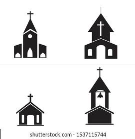 church cristian religious icon black