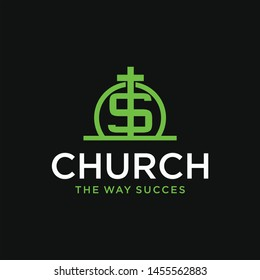 church dollar vector graphic template download quality