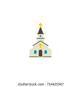 Church Icon Vector Isolated