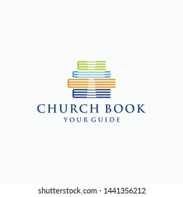 church logo quality download template abstract