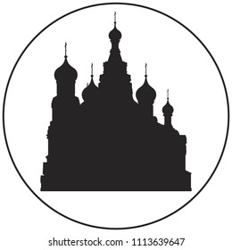 The Church of the Savior on Blood vector icon from Saint-Petersburg Russian landmark set. The Temple of the Savior on Spilled Blood was built on the site where Emperor Alexander II was fatally wounded