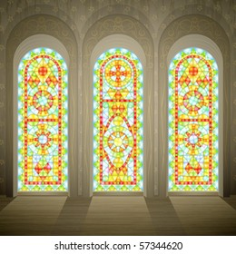 Stained Glass Cross Images Stock Photos Amp Vectors